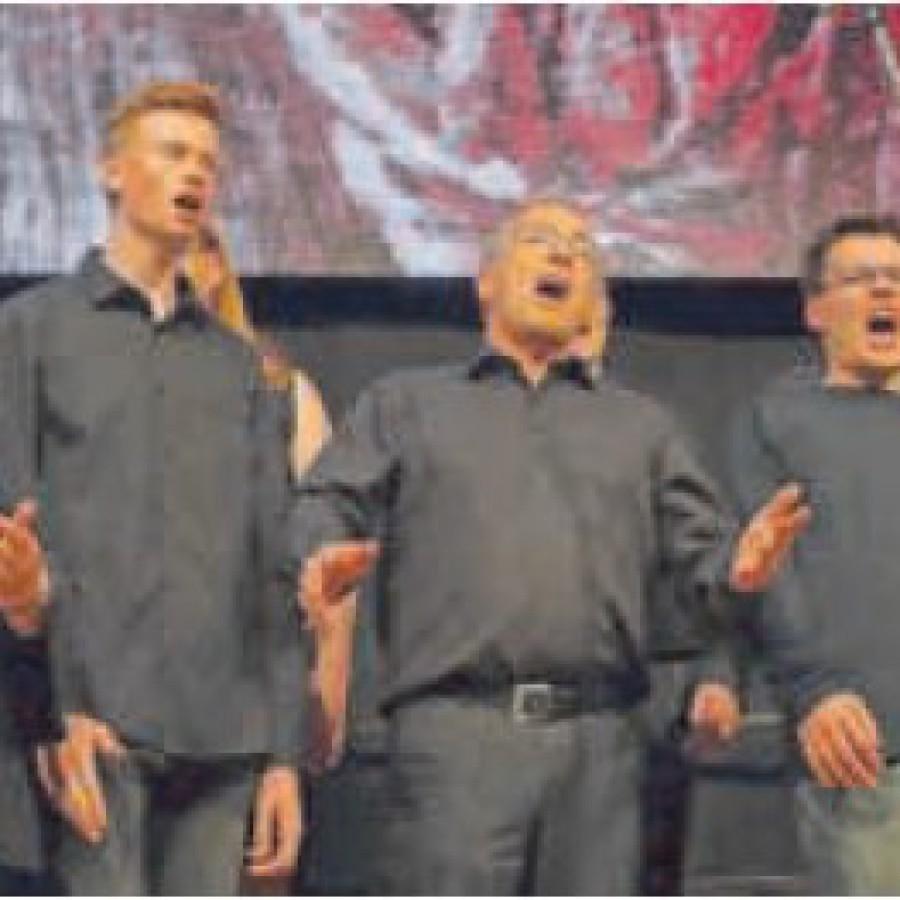 Zwei Stunden Hörgenuss präsentierte der Chor Urbanissimo bei seinem Jah¬reskonzert in der Weinsberger Weibertreuhalle